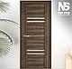"""Двері засклені міжкімнатні новий стиль Віва """"Меріда BLK,G,GRF"""" 60,70,80,90 см баварський бук, фото 9"""
