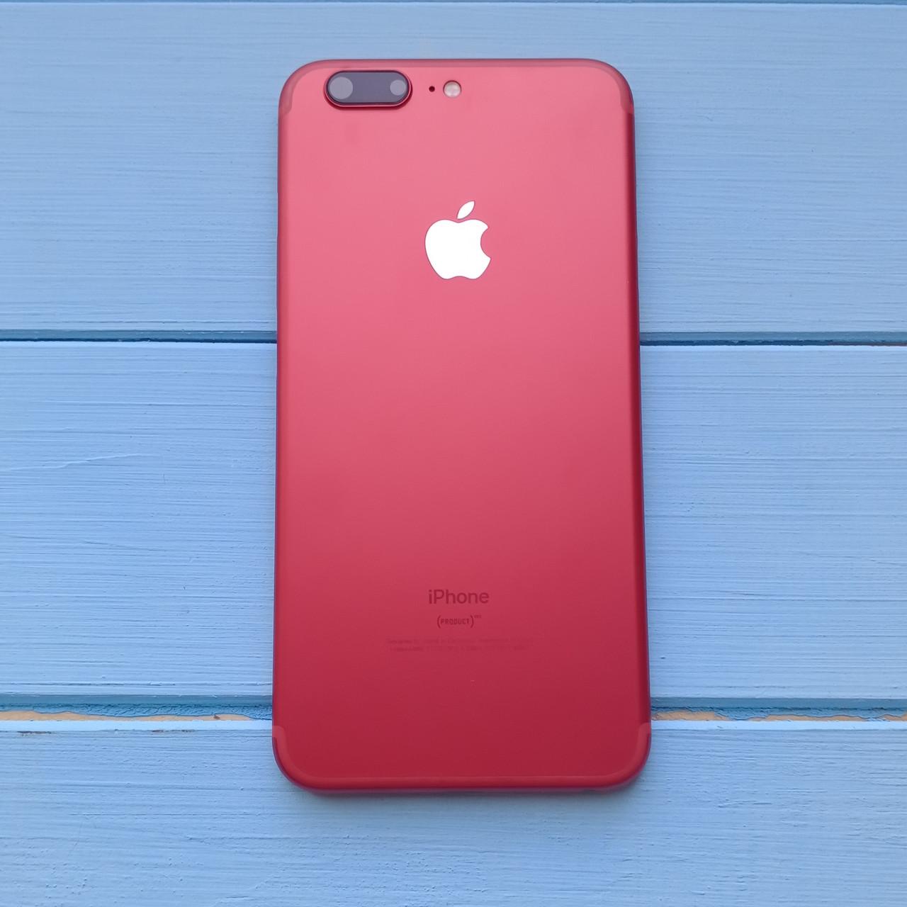 Корпус Apple iPhone 6S Plus имитация Apple iPhone 7 Plus Red