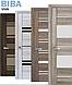 """Двері засклені міжкімнатні новий стиль Віва """"Меріда BLK,G,GRF"""" 60,70,80,90 см бук шато, фото 7"""