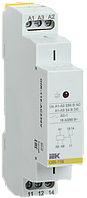 Реле промежуточное модульное OIR 1 контакт 16А 230В AC IEK