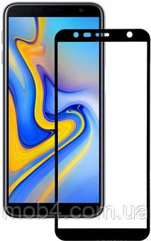 Защитное стекло для Samsung Galaxy (Самсунг) J6 plus (На весь экран)
