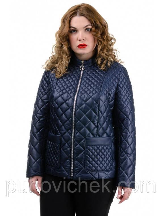 Модные куртки женские короткие весна осень размеры 50-56