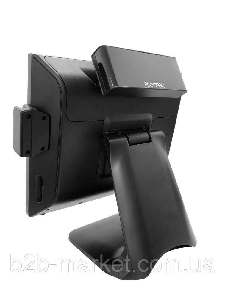 Сенсорний POS-Термінал PROFIFOR FS1505 J1900 4Gb 128 SSD + зчитувач магнітних карт + дисплей клієнта