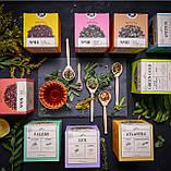 Антиоксидантный Antitox  чайный напиток,упаковка фито чай, 40 гр по 2гр ,пирамидки, фото 2