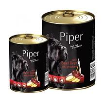 Dolina Noteci Piper 800гр консерва для собак с говяжьей печенью и картофелем