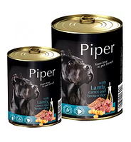 Dolina Noteci Piper 800гр консерва для собак с ягненком, морковью и рисом
