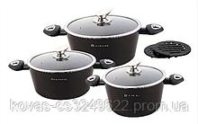 Набор посуды Edenberg  Black - 8 предметов
