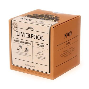Liverpool Чайный напиток для очищения печени, в пирамидках, по 2гр