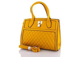 "Сумка No Brand женская (30*25*12 см) 0095 yellow ""Silverbag"" LG-1527"
