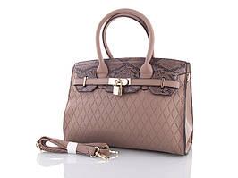 "Сумка No Brand женская (30*25*10 см) 0103 brown ""Silverbag"" LG-1527"