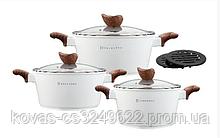 Набор посуды Edenberg  White - 8 предметов