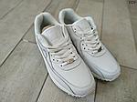 Чоловічі демісезонні кросівки Nike Air Max 90 (Білі) D29, фото 3