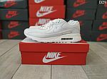 Чоловічі демісезонні кросівки Nike Air Max 90 (Білі) D29, фото 2