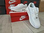 Чоловічі демісезонні кросівки Nike Air Max 90 (Білі) D29, фото 4