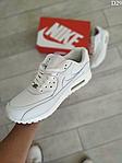 Чоловічі демісезонні кросівки Nike Air Max 90 (Білі) D29, фото 6