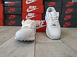 Чоловічі демісезонні кросівки Nike Air Max 90 (Білі) D29, фото 7