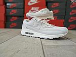 Чоловічі демісезонні кросівки Nike Air Max 90 (Білі) D29, фото 8