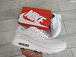 Чоловічі демісезонні кросівки Nike Air Max 90 (Білі) D29, фото 10