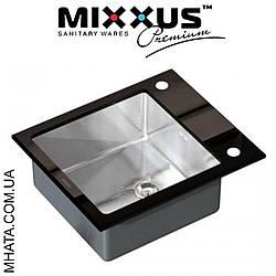 Кухонная мойка Mixxus MX(304)6051-200x1.2-HM-GLASS