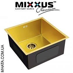 Кухонна мийка Mixxus MX4843-220x1.0-PVD-GOLD