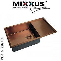 Кухонна мийка Mixxus MX7844-200x1.2-PVD-BRONZE