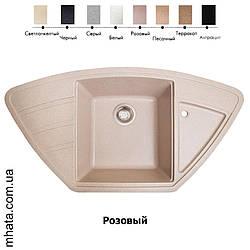 """Плита гранітна мийка """"Solid"""" Крафт """"Craft"""" 980*510*200"""
