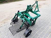 Картофелекопалка вибрационная, грохотная для трактора, 2-х ексцентриковая с активным ножем, усиленная рама, фото 1