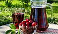 Сок вишни,  100% натуральний сок вишни, 490 мл, без консервантов, без сахара, Oleofarm, фото 2