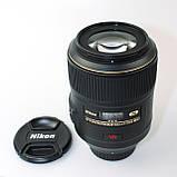 Объектив Nikon AF-S VR Micro-Nikkor 105mm f/2,8G IF-ED / на складе, фото 2