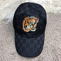 Baseball Hat Gucci Web GG Supreme Tiger Black