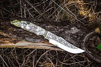 """Ніж ручної роботи з дамаської сталі """"Greenknife"""", фото 2"""
