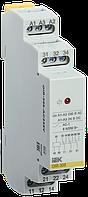 Реле проміжне модульне OIR 3 контакту 8А 230В AC IEK