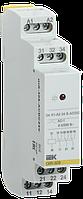 Реле промежуточное модульное OIR 3 контакта 8А 24В AC/DC IEK