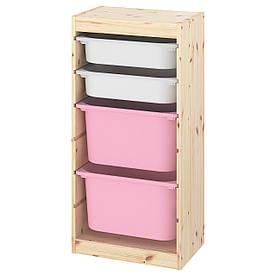 IKEA Стелаж з контейнерами TROFAST (193.380.54)