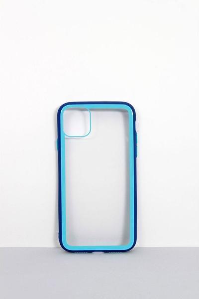 Чехлы для iPhone FAMO Чехол для iPhone XS Max синий+голубой One size (Hol-1-1)