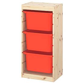 IKEA Стелаж з контейнерами TROFAST ( 293.359.41)