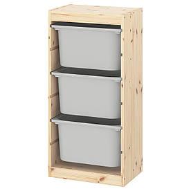 IKEA Стелаж з контейнерами TROFAST (193.296.91)
