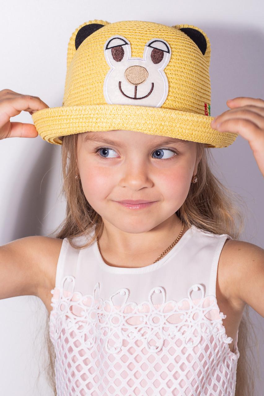 Шляпа детская Элсмир желтая 52 (SHLD1806)
