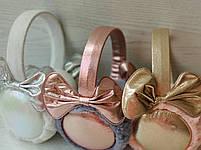 Меховые наушники с бантом для девочки, фото 6