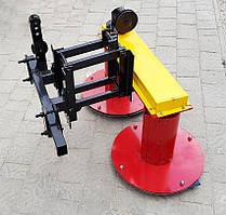 Косилка роторная КР-110М с креплением для мототрактора любой модификации по передний гидроцилиндр, 110см