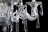 Люстра свечи хрустальная в классическом стиле для большой комнаты зала Splendid-Ray 30-3927-28, фото 4