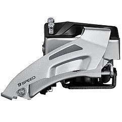 Переключатель передний SHIMANO ALTUS FD-M2020-TS 36T 34,9мм (адаптер 31,8) 2x9 универсальная тяга