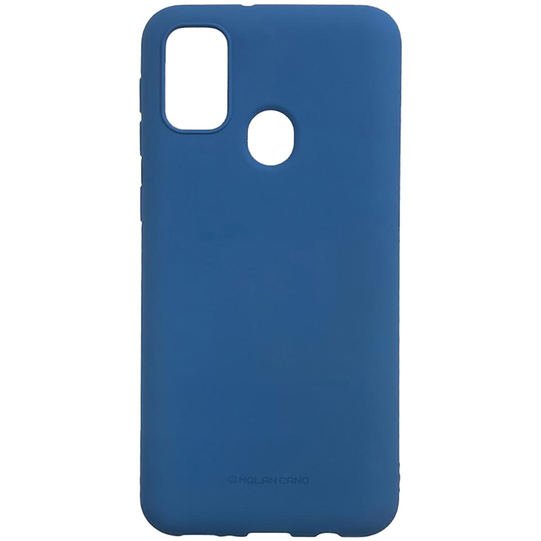 Оригинальный силиконовый чехол для Samsung Galaxy M30S (Sm-M307), Molan Cano, синий