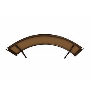 Навіс для вхідних дверей Siker 900-I (900*1400) Коричневий