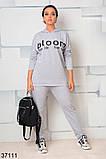Модный спортивный костюм штаны + кофта  с капюшоном р. 46-48, 50-52, 54-56, 58-60, фото 3