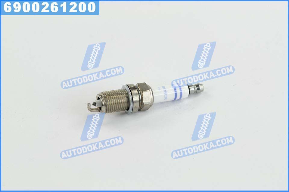 Свеча зажигания FR7KPP332 DOUBLE PLATINUM (BMW, AUDI) (производство  BOSCH) 1, 5, 6, A6, X1, X3, X5, З4, 0242235776