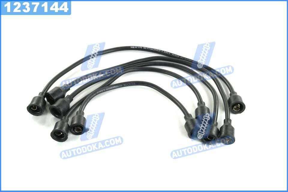 Провод зажигания УАЗ силикон черный 5шт. (производство  Украина)  451-3707250
