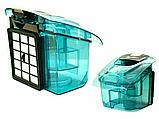 Пилосос контейнерний без мішка Grant GT-1604 3000 Вт Бірюзовий (сіра ручка), фото 4