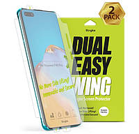 Защите экрана для Huawei P40 Pro Ringke Dual Easy Wing (2 Pack) Screen Protector