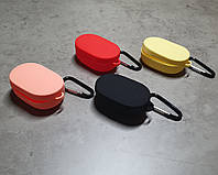 Чехол силиконовый Xiaomi Redmi Airdots Mi True wireless Earbuds original с карабином